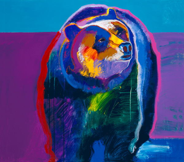 Grizzly Bear | John Nieto Art Limited Edition Giclee