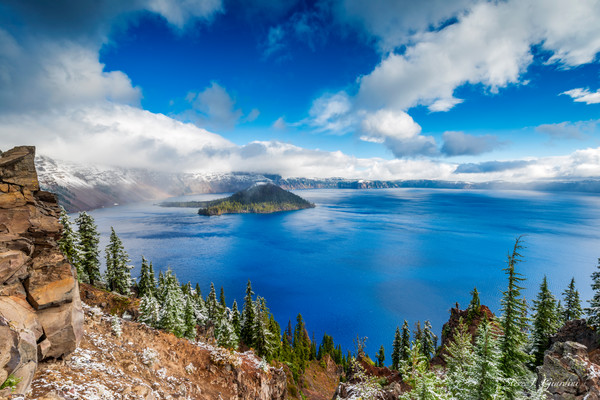 Crater Lake Blue (1810034LNND8) National Park Photograph for Sale as Fine Art Print