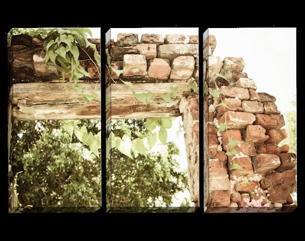 Brick By Brick Triptych
