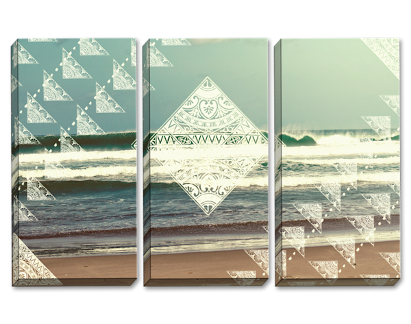 Energy Of The Ocean Triptych