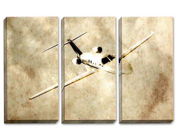 Flying By Faith Triptych
