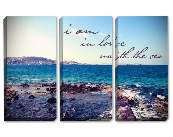 Love of the Sea Triptych
