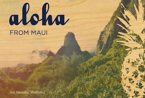 Maui Iao Needle postcard