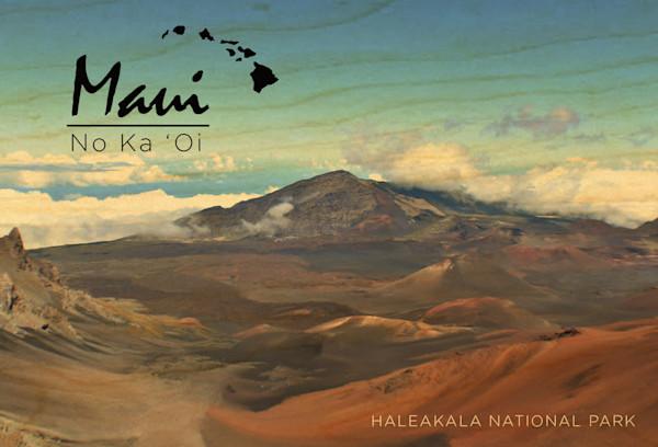 Maui Haleakala postcard