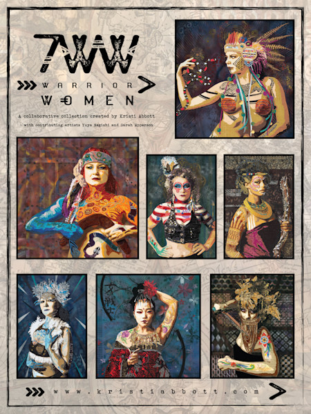 7 WARRIOR WOMEN POSTER - Limited Edition