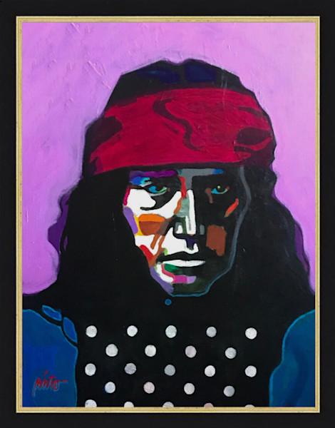 Apache | John Nieto Original Painting and Framed Art