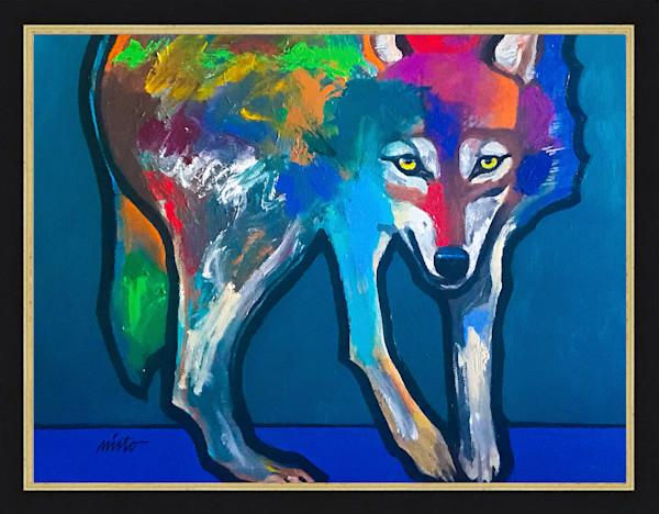Alpha Wolf   John Nieto Original Paintings