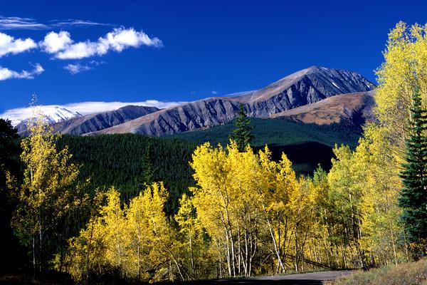SUM-4314 •  Quandary Peak From Boreas Pass