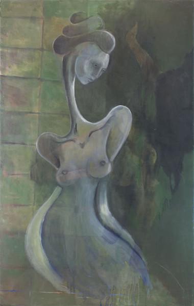 Figure Study in Green