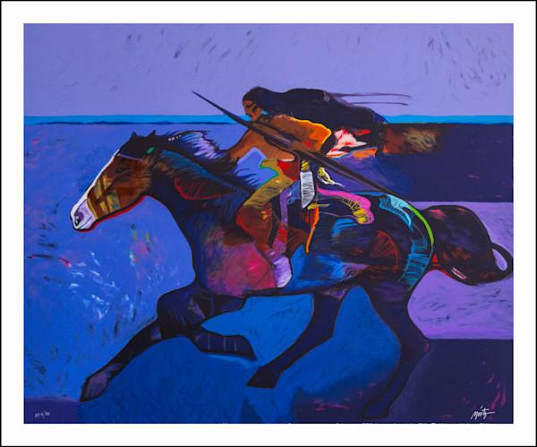 American Survivor | John Nieto Art Limited Edition Serigraph