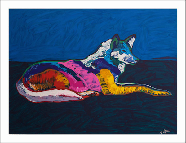 Wolf | John Nieto Art Limited Edition Serigraph