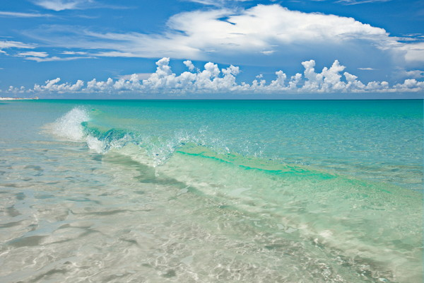 Photographic art of of the Emerald Coast of, Florida