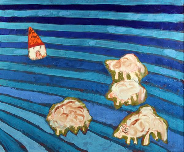 """Meadow Pasture"" by Andrei Cicală   Prophetics Gallery"
