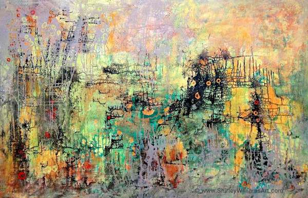 Large Original Painting on Canvas - 'Forces of Nature' #1029
