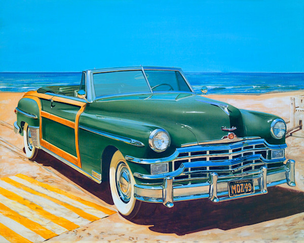 Beach Blanket, by Bruce Burr, Limited Edition Print