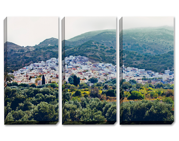 Unobstructed Views Triptych