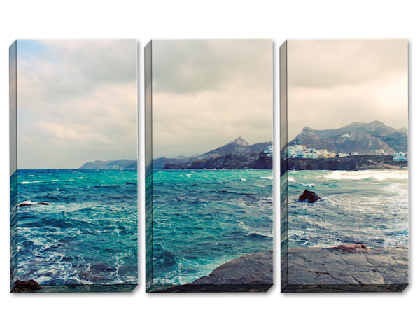 Across The Sea Triptych