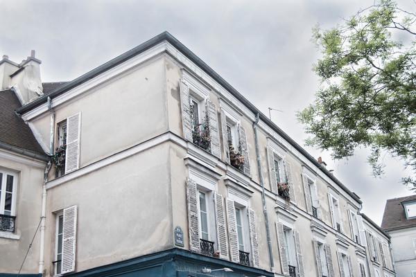 Photograph from Place Du Tertre, Montmartre, Paris France