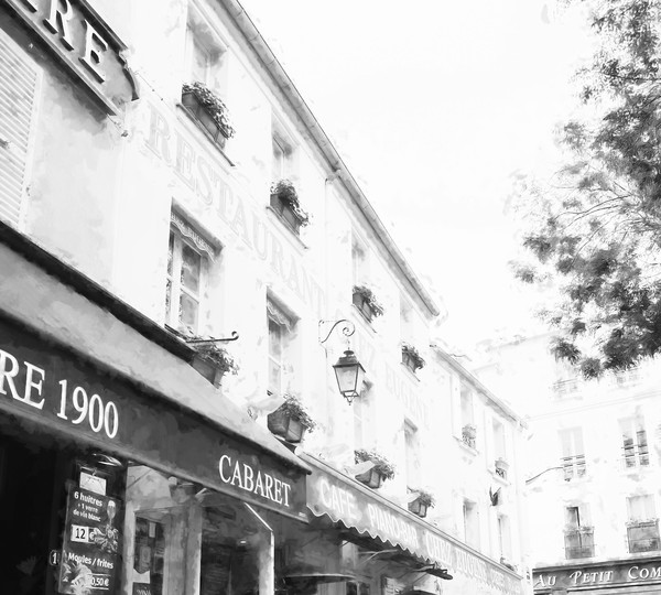 Chez Eugene Montmartre Cafe Paris