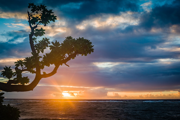 Sunrise over Kauai