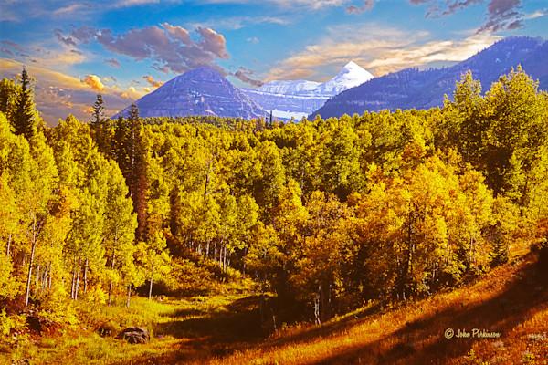 Provo Peak in Autumn