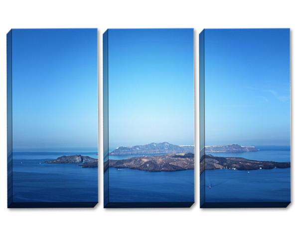 Endless Blue Triptych