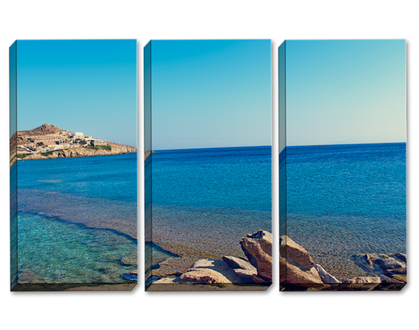 Summer Paradise Triptych