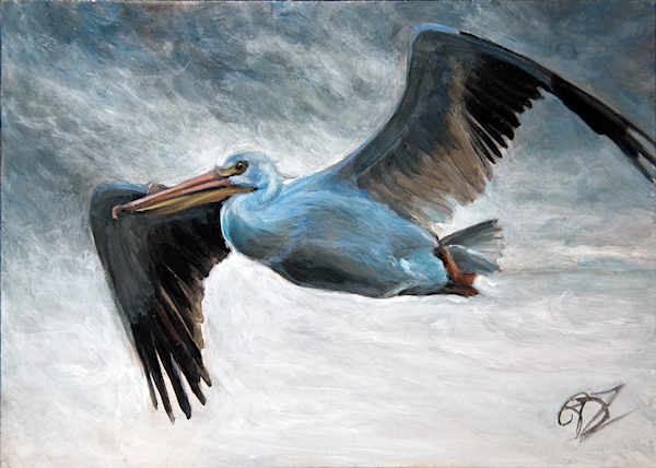 Soar Original Painting