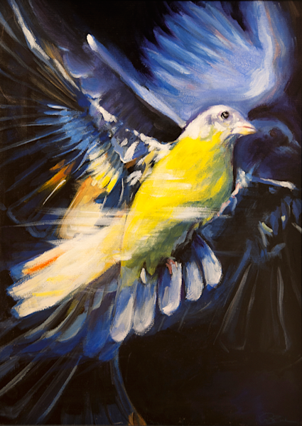 Flight Original Painting