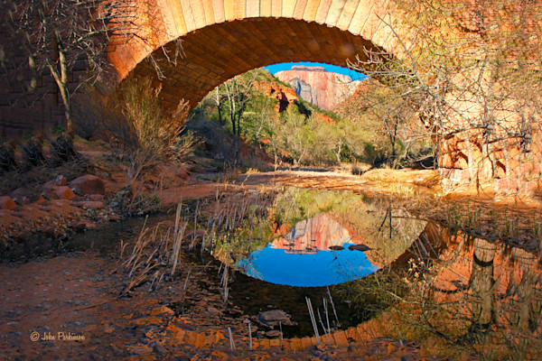 Under Zion Bridge