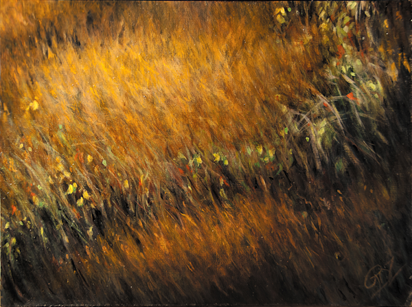 Autumn Glow Original Painting