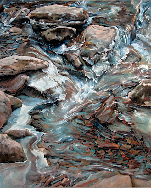 Spring Thaw Original Painting