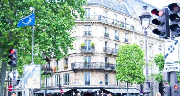 Best Seller La Bistro Margarite in Paris, Near Notre Dame and Shakespeare Bookstore Art