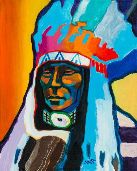 Rain in the Face | John Nieto Art Reproduction