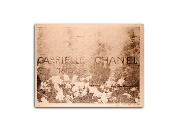 Untitled Chanel Gravesite Silver