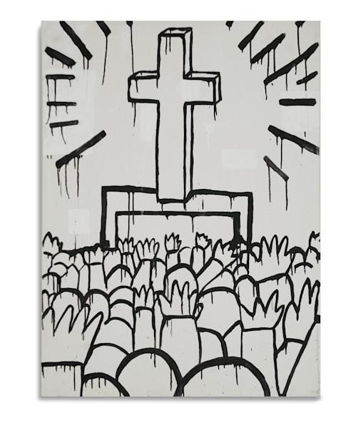 Keith Haring Cross