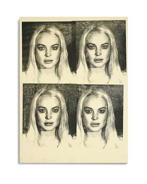 Mugshot Lindsay Lohan Yellow