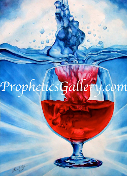 """Water Into Wine"" by Thomas Seagrave Chapman 