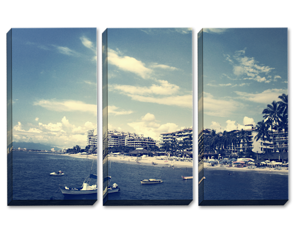 Blurred Lines Triptych