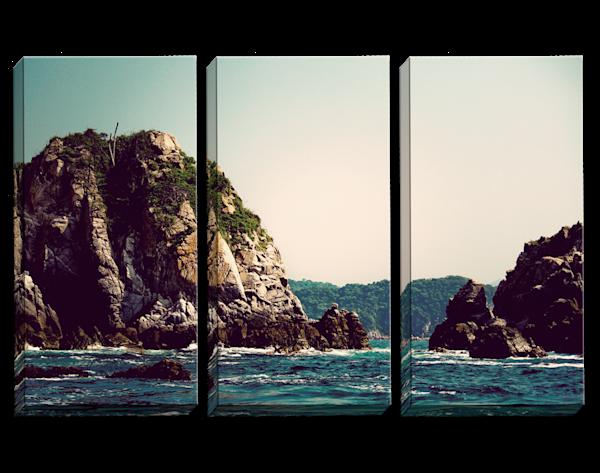 Knock On Wood Triptych