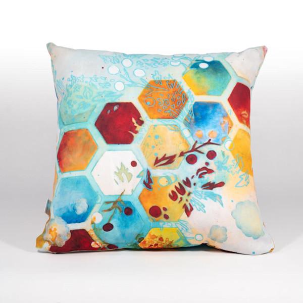 Aflutter Art Pillow - Heather Robinson Fine Art