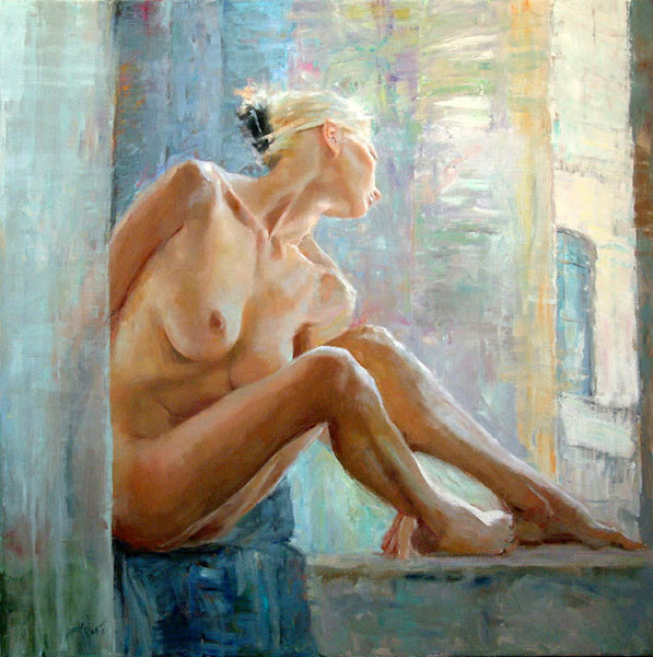 Large Eric Wallis original art