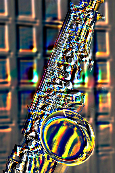 Jazz Tenor Saxophone In the Club 3252.102