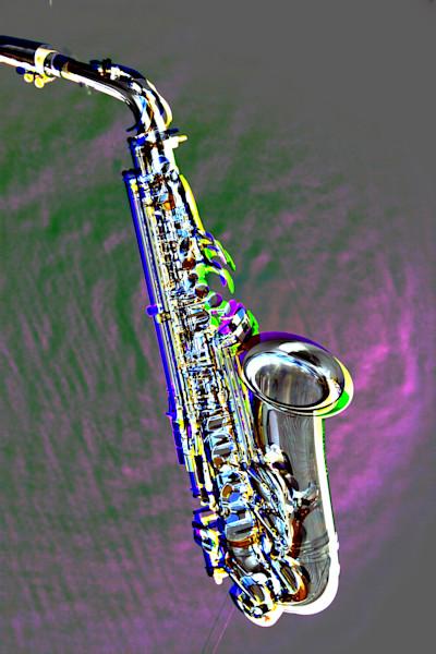 Jazz Saxophone Metal Art 3271.102