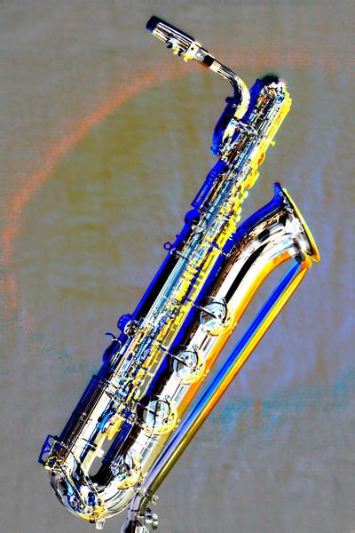Baritone Saxophone Metal Art 3463.102