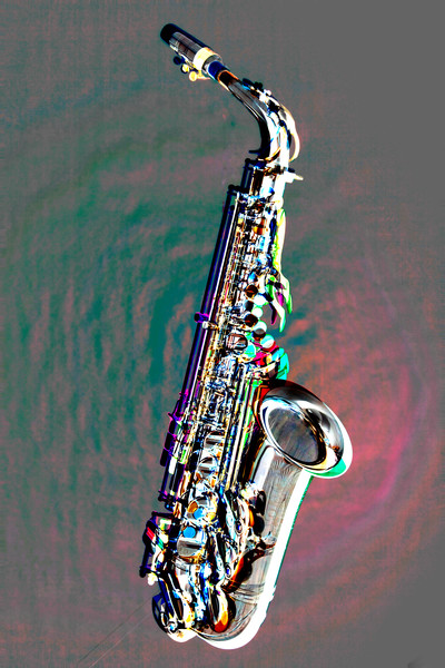 Saxophone Fine Art Embossed Images