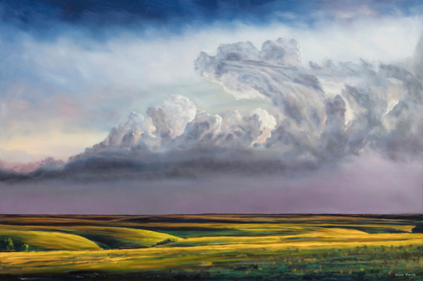 Original Oil & Acryllic Landscape Paintings  | Brian Timmer Art | Lawrence Kansas | Landscape art murals and original paintings for sale