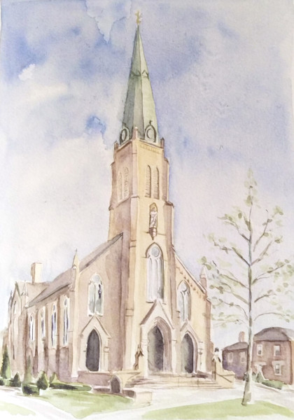 Saint Rose Perrysburg Watercolor