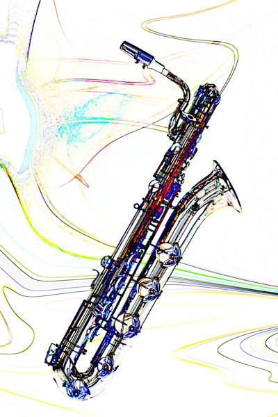 Baritone Saxophone Fine Art Print 3459.602