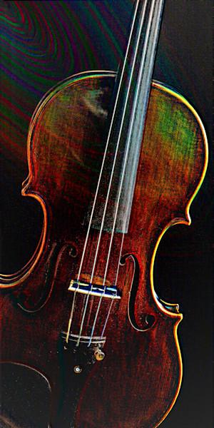 Embossed Antique Violin 4010
